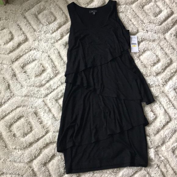 Karen Kane Dresses & Skirts - Asymmetrical tiered ruffle dress